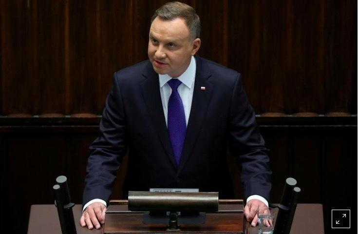 Tổng thống Ba Lan mắc Covid-19-1
