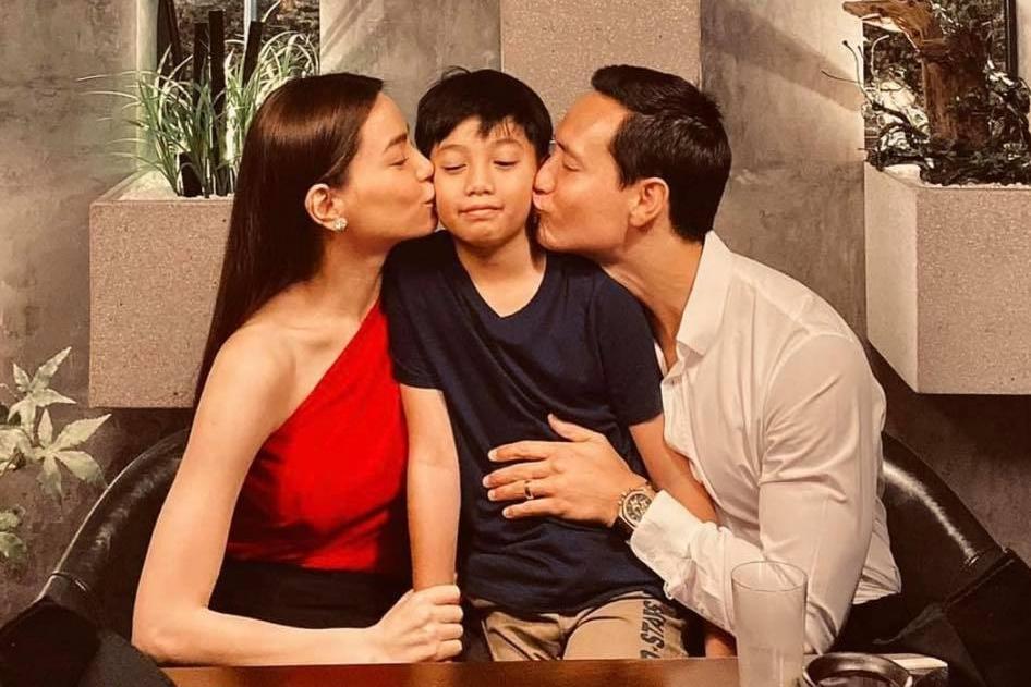 Khoảnh khắc tình cảm như cha con của Kim Lý - Subeo-5
