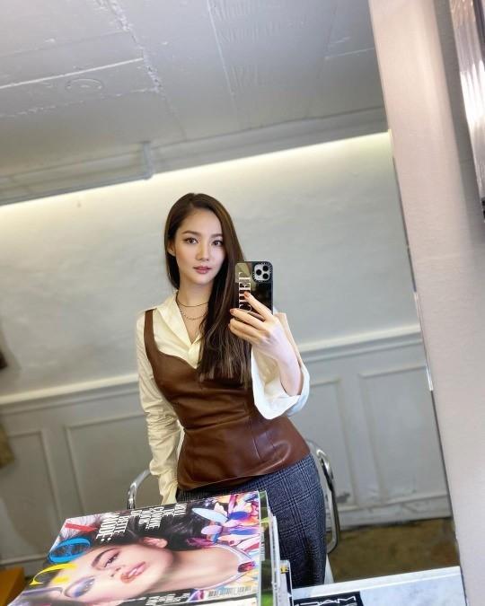 Tình cũ Lee Min Ho Park Min Young lộ nhan sắc thật, ngoại hình xuống sắc trông thấy-3