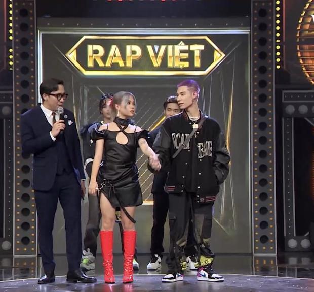 MCK và Tlinh phát cẩu lương ngay trên sân khấu Rap Việt-6