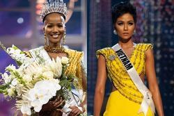 Hoa hậu Nam Phi 2020 vừa lộ diện đã bị soi mặc váy giống H'Hen Niê