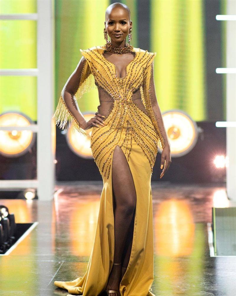 Hoa hậu Nam Phi 2020 vừa lộ diện đã bị soi mặc váy giống HHen Niê-3