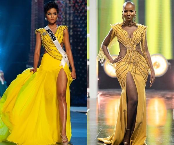 Hoa hậu Nam Phi 2020 vừa lộ diện đã bị soi mặc váy giống HHen Niê-7