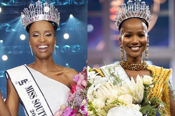 Hoa hậu Nam Phi 2020 vừa lộ diện đã bị soi mặc váy giống HHen Niê-8