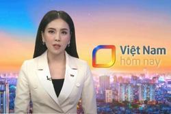 MC Mai Ngọc 'bụng đau quặn từng hồi' khi dẫn bản tin trực tiếp