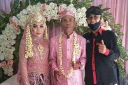 Cụ ông 71 tuổi làm lễ cưới linh đình với cô dâu mới tròn 18