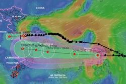 Dự báo thời tiết 26/10: Miền Trung mưa liên tục, 'nín thở' chờ bão Molave