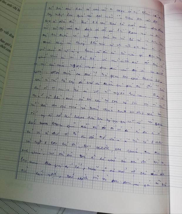 Chấm bài kiểm tra, cô giáo sang chấn tâm lý vì chữ viết của học trò-2