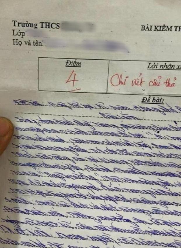 Chấm bài kiểm tra, cô giáo sang chấn tâm lý vì chữ viết của học trò-4