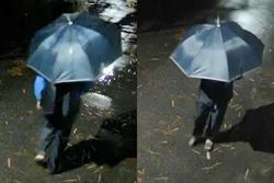 Công an Hà Nội truy tìm đối tượng cầm ô đi cướp tài sản