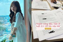 Hé lộ ảnh bạn gái Quang Hải đi làm thủ tục mua nhà ở tuổi 21
