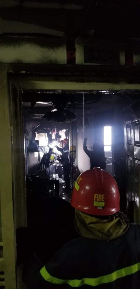 Sáng sớm, cháy lớn tại chung cư HH Linh Đàm, hàng nghìn người sợ hãi tháo chạy tán loạn-2