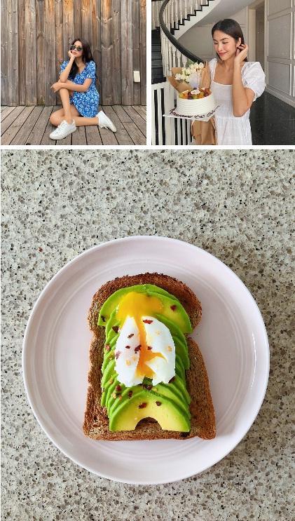 Để ý mới thấy Tăng Thanh Hà ăn sáng rất khác biệt, chả trách làm mẹ 2 con mãi xinh đẹp-1