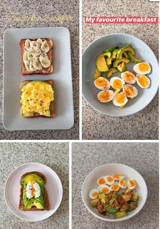 Để ý mới thấy Tăng Thanh Hà ăn sáng rất khác biệt, chả trách làm mẹ 2 con mãi xinh đẹp-2