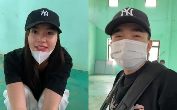 Ninh Dương Lan Ngọc - Chi Dân diện đồ đôi đi từ thiện miền Trung-1