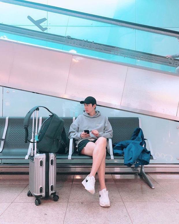 Đẳng cấp visual của Lee Min Ho, fans thốt: Anh quấn giẻ rách vẫn đẹp trai-4