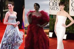 Anne Hathaway và những bộ cánh chiếm trọn 'spotlight' thảm đỏ điện ảnh