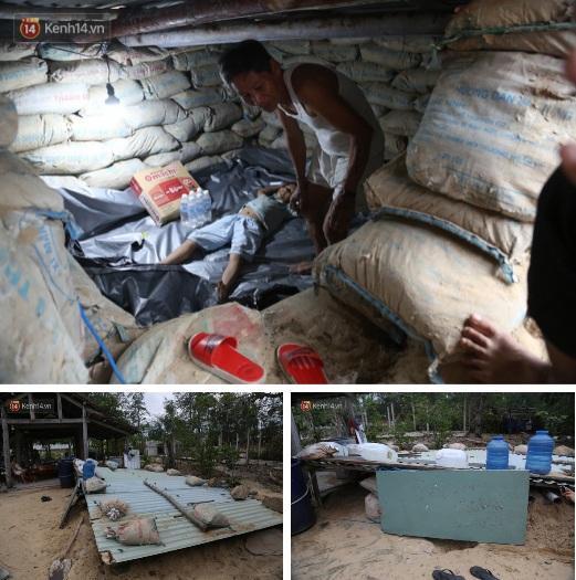 Người dân Quảng Nam đào hầm, đưa cả nhà xuống trú ẩn để tránh bão số 9-3