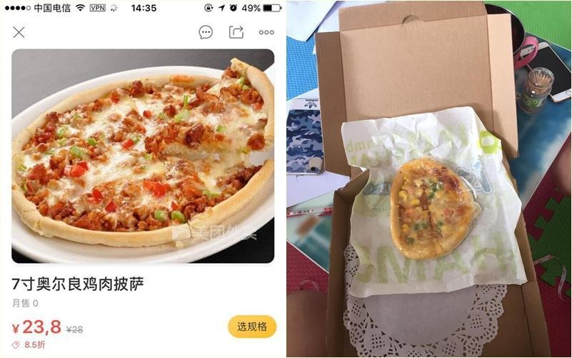 Cô gái khóc ngất vì đồ ăn order khác xa thực tế, dân mạng cà khịa giống hệt, khác mỗi màu-7