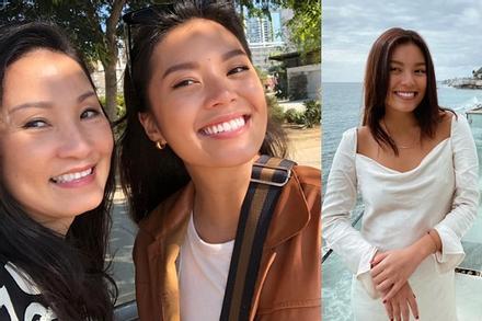 Hồng Đào mừng sinh nhật ái nữ, nhan sắc 2 mẹ con gây bất ngờ