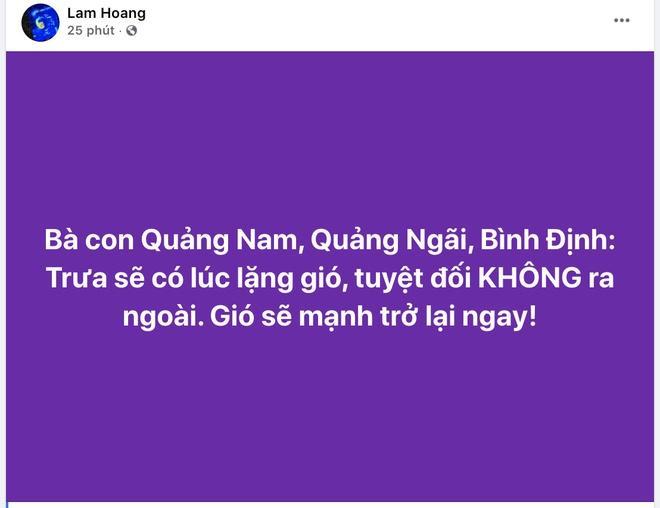 Clip: Bão số 9 vào Đà Nẵng, Quảng Ngãi mưa như trút nước, gió gầm rú kinh hoàng-3