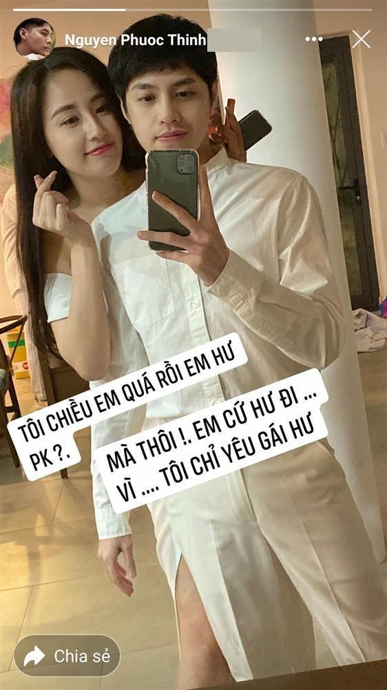 Noo Phước Thịnh phản ứng khi bị gọi nai bò, gồng yêu Mai Phương Thúy-2
