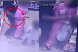 Truy tìm kẻ biến thái sàm sỡ bé gái trong siêu thị