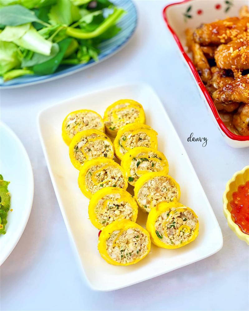 Mâm cơm chiều nhiều rau xanh giải ngán ngon lạ lùng, ăn hết cơm vẫn thòm thèm-5
