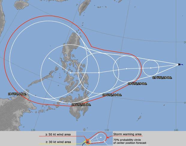 Khi bão số 9 còn đang cuồng nộ, dự báo sắp xuất hiện bão số 10-1