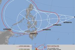 Khi bão số 9 còn đang 'cuồng nộ', dự báo sắp xuất hiện bão số 10