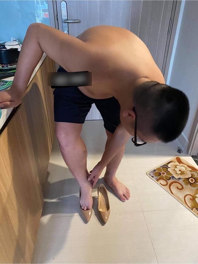 Háo hức được vợ tặng giày thiết kế nhân dịp tăng lương, chồng méo mặt đi thử khi hàng về-1