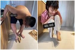 Háo hức được vợ tặng giày thiết kế nhân dịp tăng lương, chồng 'méo mặt' đi thử khi hàng về