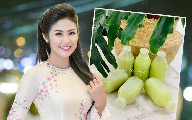 Học lỏm cách làm một loại sữa mà Hoa hậu Ngọc Hân mê như điếu đổ-1