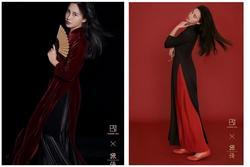 Nhiếp ảnh gia Trung Quốc ngang nhiên biến áo dài Việt Nam thành thiết kế của mình