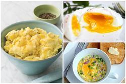 3 cách làm bữa sáng nhanh gọn nhẹ với trứng, 5 phút có ngay món ngon