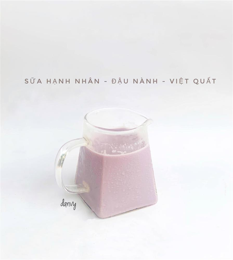 Mẹ đảm bật mí cách tạo màu sắc cho sữa hạt giúp bé uống ngoan mỗi ngày-7
