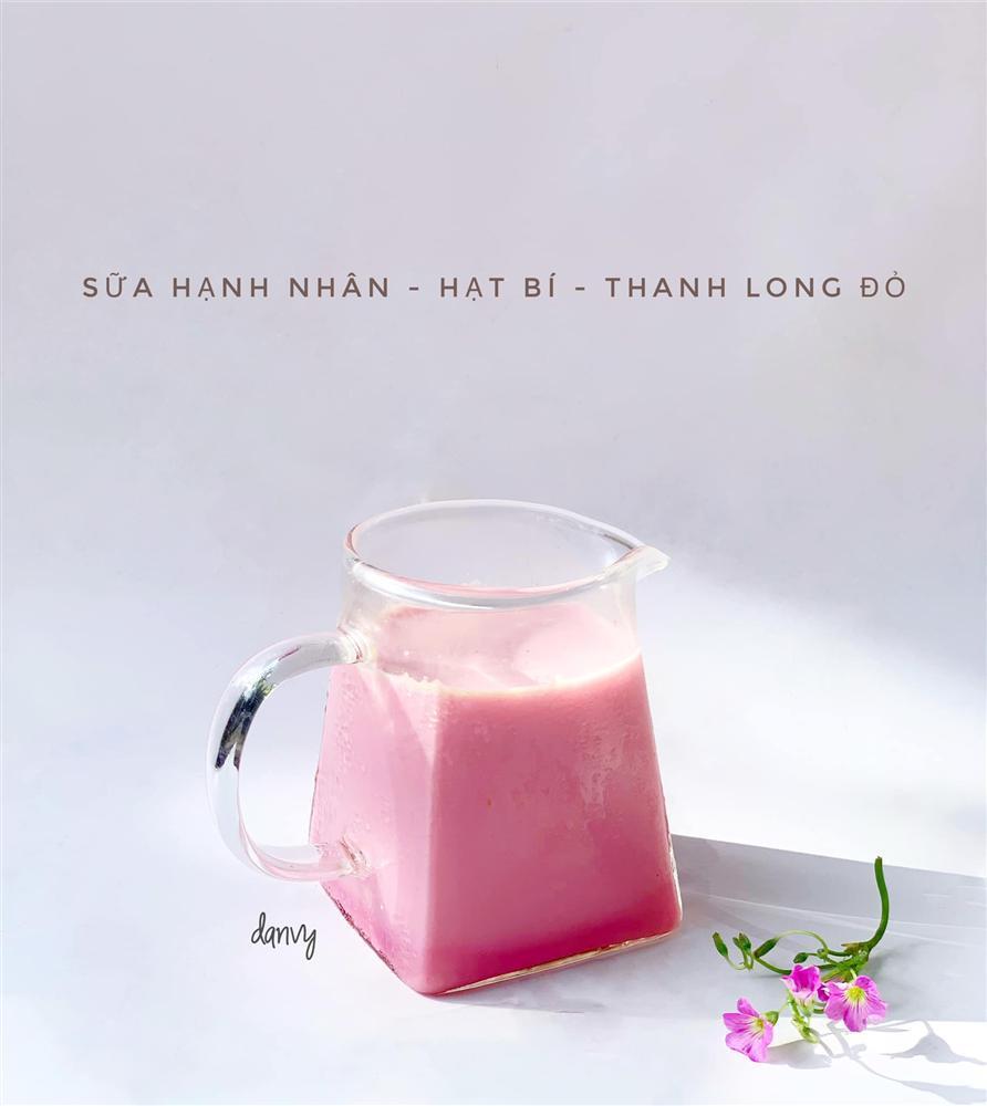 Mẹ đảm bật mí cách tạo màu sắc cho sữa hạt giúp bé uống ngoan mỗi ngày-13