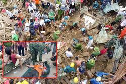 Cứu được 46 người sống sót trong hai vụ lở đất ở Quảng Nam