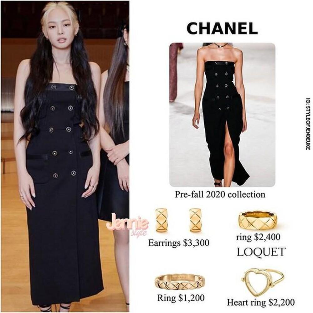 Cùng diện đầm Chanel: Gia Quý phi của Như Ý Truyện sang chảnh, Jennie lép vế vì đôi sandals tòe ngón-6