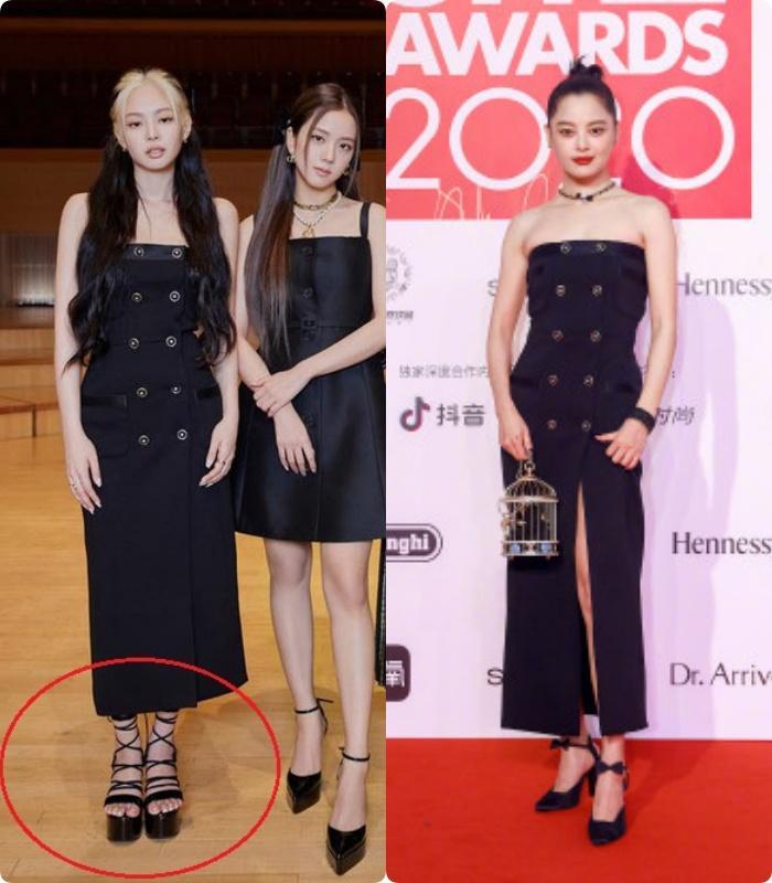 Cùng diện đầm Chanel: Gia Quý phi của Như Ý Truyện sang chảnh, Jennie lép vế vì đôi sandals tòe ngón-8