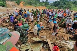 Sạt lở ở Quảng Nam: Người thân nạn nhân kể lại giây phút ám ảnh