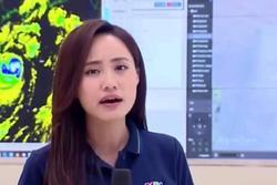 MC nổi tiếng VTV tiết lộ về 'trường quay đặc biệt' trong những ngày dẫn sóng tin mưa bão