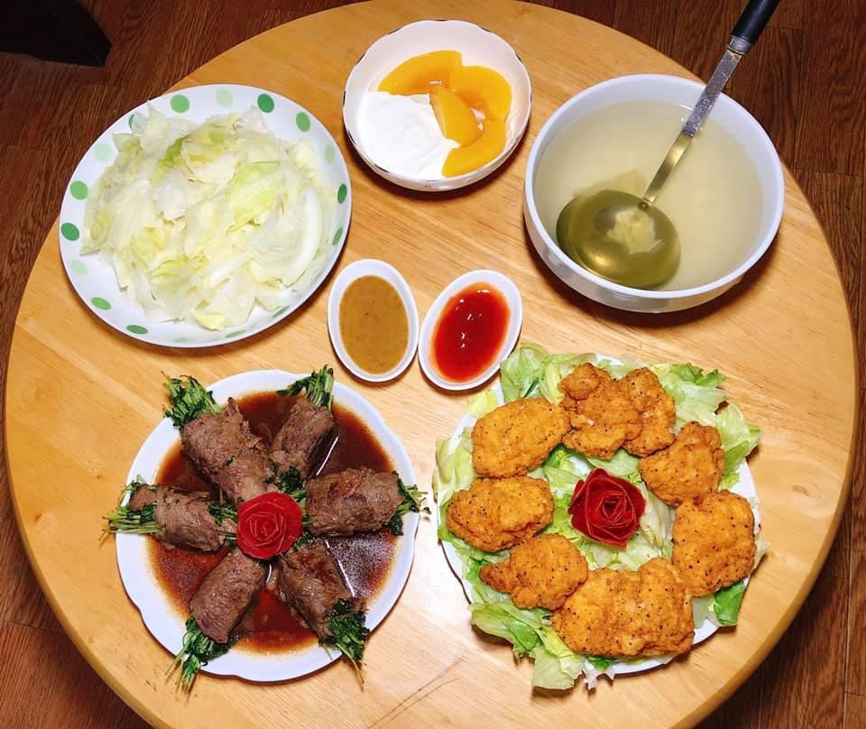 Mâm cơm gia đình ấm cúng, ngon hết nấc đầy món Việt của người vợ 9X tại Nhật Bản-2