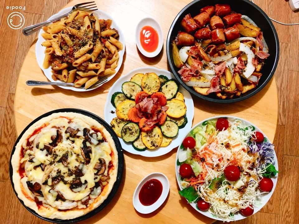 Mâm cơm gia đình ấm cúng, ngon hết nấc đầy món Việt của người vợ 9X tại Nhật Bản-13
