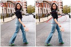 Nga Nguyễn - chị gái BN17 bị bóc mẽ photoshop méo cả đường đi