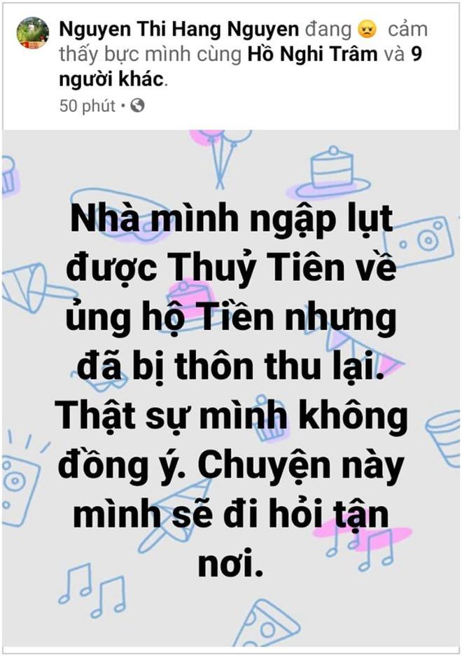 Quảng Bình trả lại số tiền đã thu của gia đình nhận cứu trợ từ Thủy Tiên-1