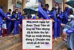 Quảng Bình nói gì về chuyện cán bộ đến từng nhà thu lại tiền từ thiện của Thủy Tiên?