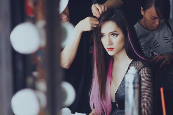 Mỹ Tâm - Hari Won - Quỳnh Anh Shyn đu trend tóc tím nhưng chặt chém nổi dàn idol Hàn-9