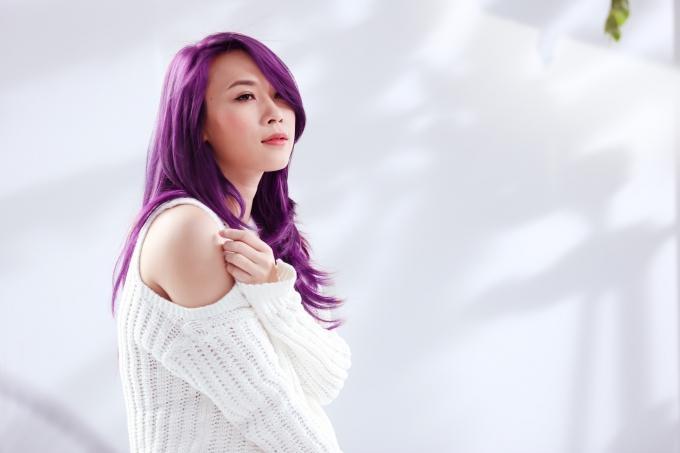 Mỹ Tâm - Hari Won - Quỳnh Anh Shyn đu trend tóc tím nhưng chặt chém nổi dàn idol Hàn-12