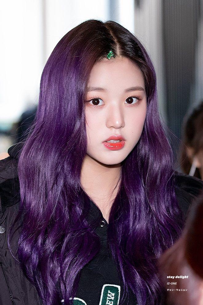 Mỹ Tâm - Hari Won - Quỳnh Anh Shyn đu trend tóc tím nhưng chặt chém nổi dàn idol Hàn-3